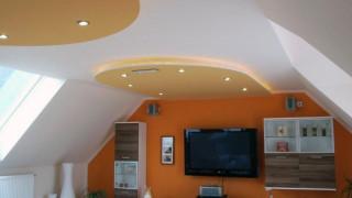 Dachausbau mit LED Spots